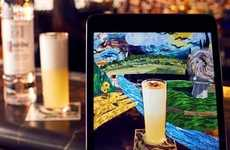 AR Cocktail Menus - City Social's 'Mirage' is the World's First Augmented Reality Cocktail Menu