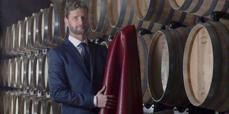Plant-Based Wine Leathers - VEGEA Makes Alternative Leather with Fibers from Grape Skins and Seeds