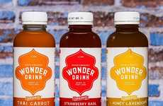Culinary-Inspired Probiotic Drinks - Wonder Drink's Trio of Flavors Celebrate Offbeat Food Pairings