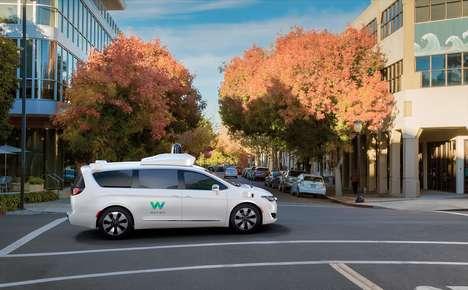 Public Autonomous Van Tests - Waymo Early Riders Lets Ordinary People Test Self-driving Cars