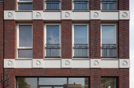 Emojified Architectural Gargoyles