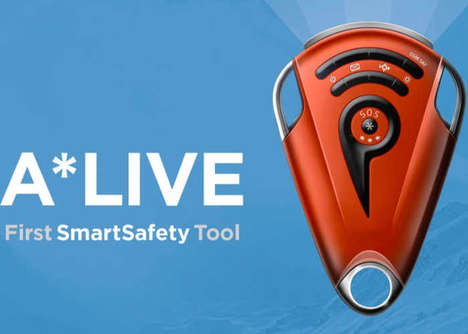 Reliable GPS Safety Device - The 'A*LIVE' Smart Safety Tools Send Out a Distress Call for Help