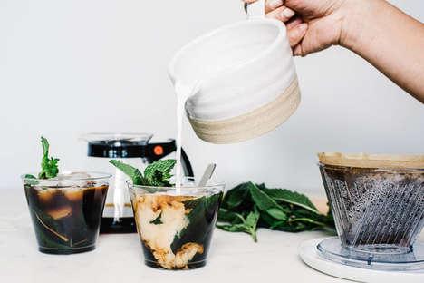 Mint Leaf Coffee Blends