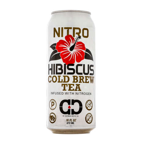 Nitrogen-Infused Teas