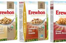 Free-From Cereal Brands - The New Line of Erewhon Gluten-Free Cereals Offer Healthy Options