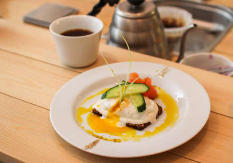 Gourmet Coffee Shop Menus - Scandinavian Embassy Serves Up Artisanal Coffee and Food Options