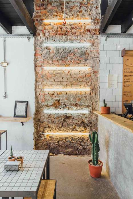 Exposed Brick Pulley Systems