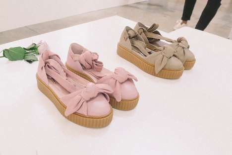 Ballet-Inspired Sneakers - The New Creepers from Fenty Puma and Rihanna Look Like Ballet Slippers