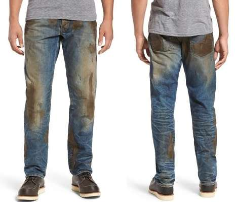 The Nordstrom Faux Muddy Jeans Let You Look Like You've Worked Outside