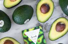 Avocado Chocolate Bars - This Compartes White Chocolate Bar is Filled with Fresh California Avocados