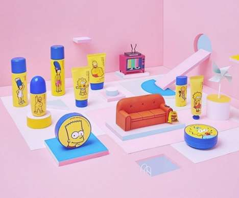 Cartoon Family-Inspired Skincare - The Face Shop Launched a Collection That Features the Simpsons