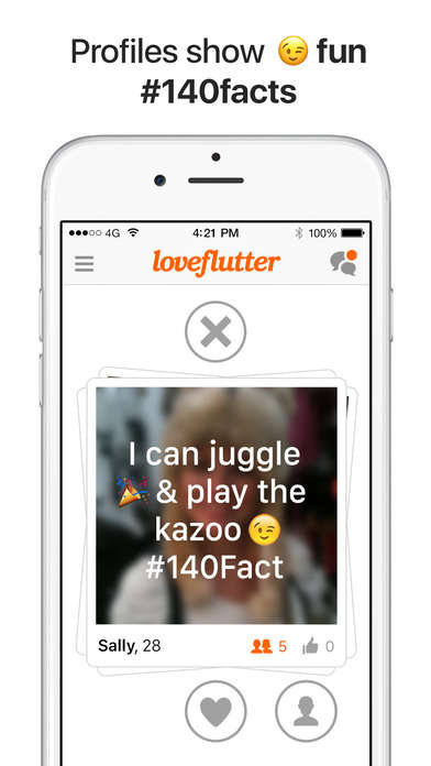 Tweet-Focused Dating Apps - The Relaunched Loveflutter App Features Twitter Feeds on Profiles