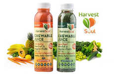 Chunky Juice Beverages - Harvest Soul's 'Chewable Juice' Has Seeds, Nuts and Berries Mixed In