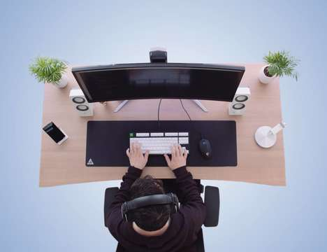 Collapsible Work Desk Designs - The Foundry Desk Assembles in Moments without the Need for Tools