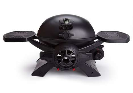 Spaceship-Inspired Barbecues - The TIE Fighter Portable Gas Grills are Stylish and Effective