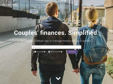 Couple Finance Apps - The 'Honeyfi' App Simplifies Finances for Couples to Manage Money Easily