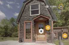 360-Degree Cabin Tours - Burt's Bees Created a 360-Degree Tour of the Founder's Personal Cabin