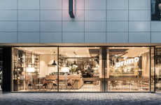 Fashionable Lifestyle Cafes - The Design of the Primo Cafe Bar Celebrates Style & Sustainability