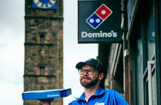 Traditional Tartan Uniforms - Kilts are Now the Official Delivery Uniform of Domino's in Scotland