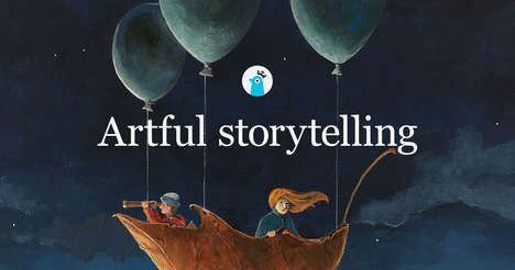 Collaborative Storytelling Platforms - 'Storybird' Helps Creative Members Share Ideas with Artists