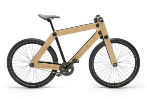 Sustainable Self-Assembly Bikes - SandwichBikes Encourages Riders to Build Their Own Frames