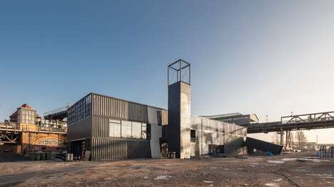 Modular Brewery Buildings - BRLO BRWHOUSE Can Be Dismantled and Rebuilt If Necessary