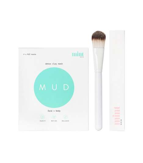 Single-Use Mud Mask Sets