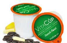 Vitamin-Enriched Coffee Pods - VitaCup's Vitamin Coffee Pods Contain Vitamins B, D and Antioxidants