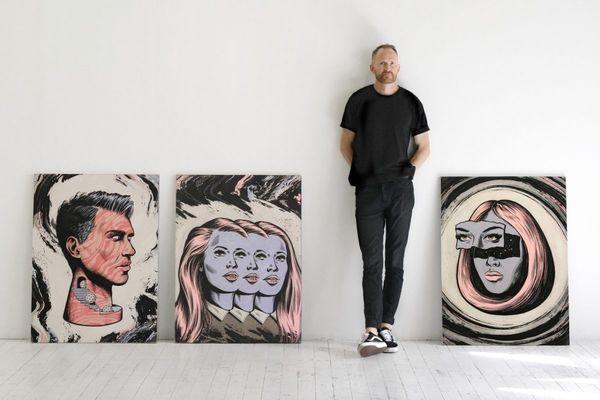 Millennial-Inspired Pop Art