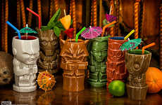 Fantasy Tiki Mugs - The Guardians of the Galaxy Geeki Tikis Feature Tiki-fied Heroes