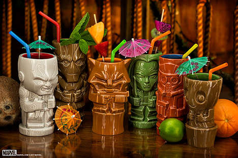 Fantasy Tiki Mugs