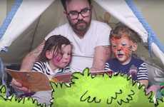 Bedtime Story Video Series - The SacconeJolys are Filming a Series of Story Videos for Young Kids