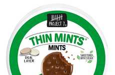 Cookie-Flavored Mints - Project 7's Mints Take Inspiration from a Classic Girl Scouts Cookie Flavor