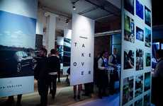 Photo App-Inspired Galleries - Maserati's Event Showcased Results of Its Instagram Takeover Campaign