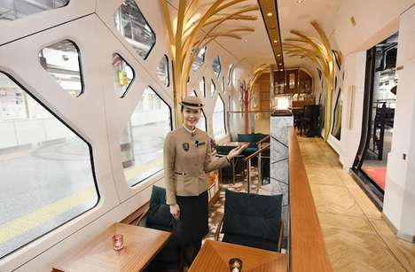 Luxurious Sleeper Trains - The East Japan Railway Co.'s New Train Offers Comfort and Style