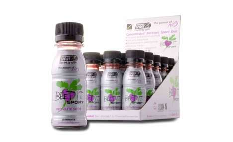 Beet-Based Sport Shots - The 'Beet It' Sport Shots Offer an All-Natural Way to Intake Nitrate