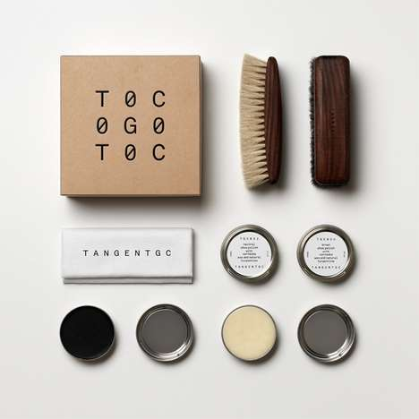 Minimalist Shoe Care Kits