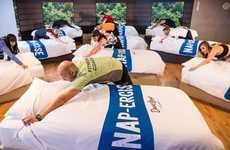 Bed-Based Workout Classes - The U.K.'s David Lloyd Clubs Rolled Out the First 'Napercise Class'