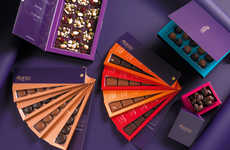Fan Deck-Themed Chocolates - Abanico Chocolat & Cadeaux Has New Products Inspired by Its Name