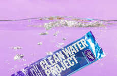 Water-Providing Chocolate Bars - Purdys' 'Clean Water Project Bar' Supports Cocoa Communities