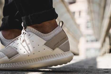 Knit Monochrome Sneakers