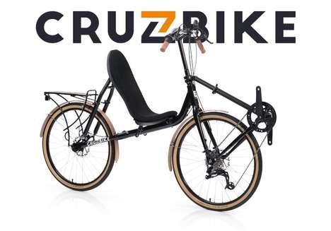 Comfortable Weight-Distributing Bikes