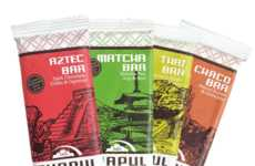 Cricket Flour Energy Bars - Chapul's Cricket Bars Include Dark Chocolate and Matcha Varieties