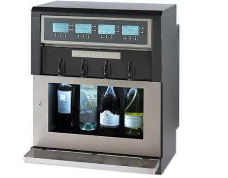 The WineStation Preserves and Dispenses Fine Wine With Style