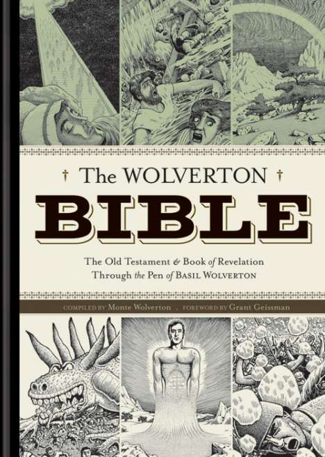 Wolverton Bible Has Vintage Cartoons Even The Non-Religious Will Like