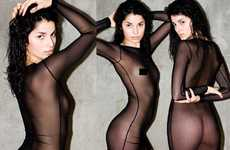 See-Through Fashion - Scandalous American Apparel Sheer Dress Reveals All