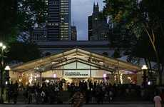 Couture Crunch - Iconic Bryant Park Fashion Week Shows Coming To An End