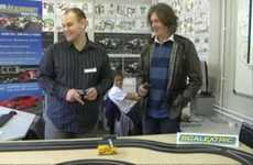 Studying Slot Cars in Schools