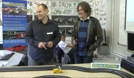 James May from 'Top Gear' Backs 'Scalextric 4 Schools'