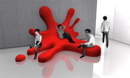 Blob Sofa by David Genin is Perfect for Artists